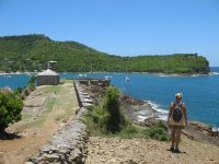 alte Befestigung, English Harbour, Antigua