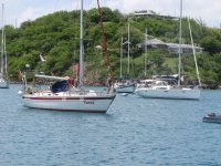 Taras und Aroha, English Harbour, Antigua